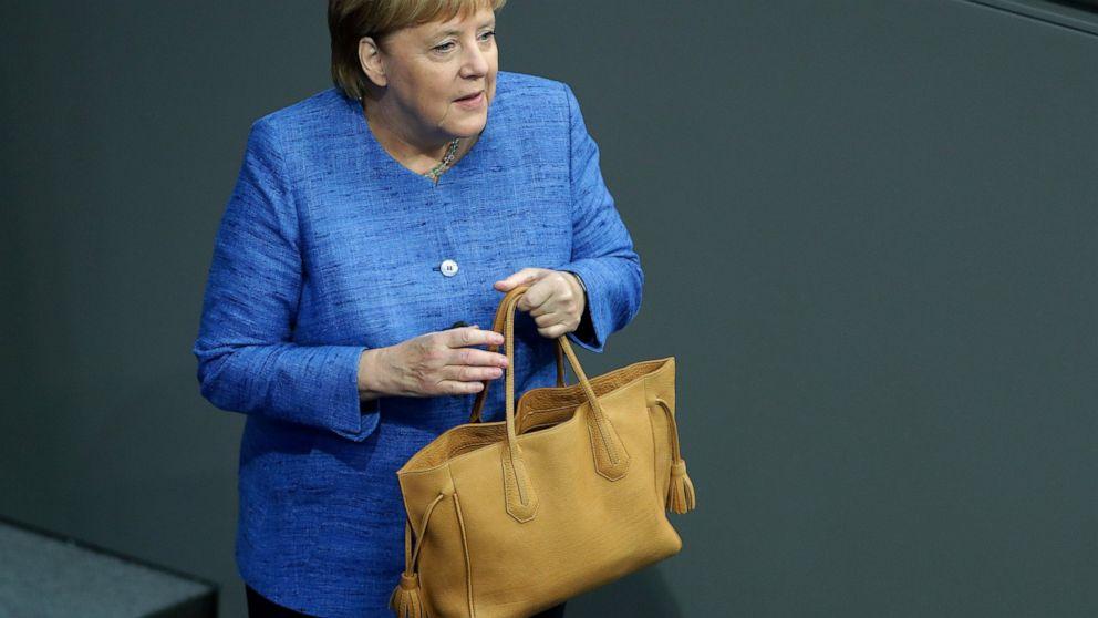 ドイツのメルケル面に決定的な節気候変動防止の取り組み