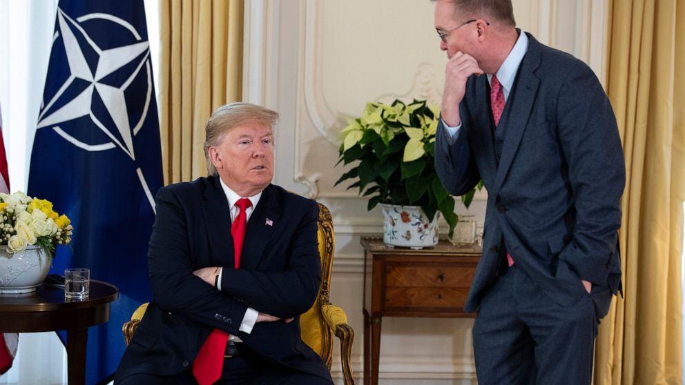 Trump sagt China-deal könnte warten, bis nach der Wahl