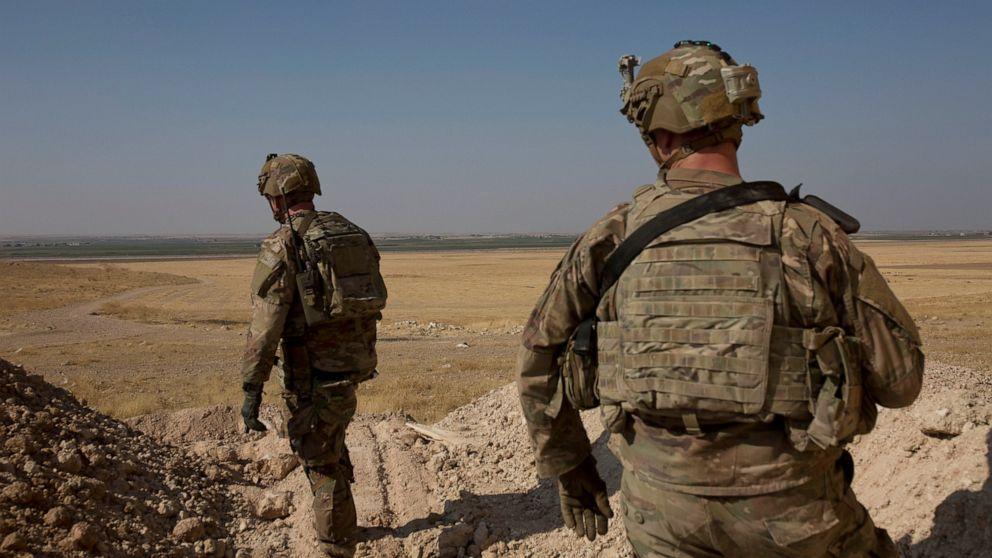 Defense-Chef: US-Truppen verlassen Syrien zu gehen, um den westlichen Irak