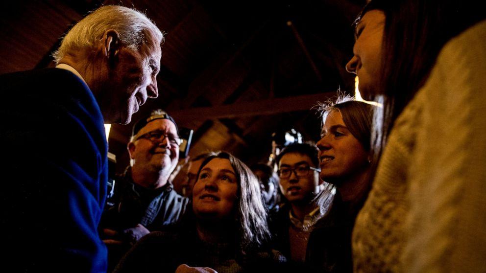 Biden rips Sanders Kampagne für Soziale Sicherheit, Angriffe