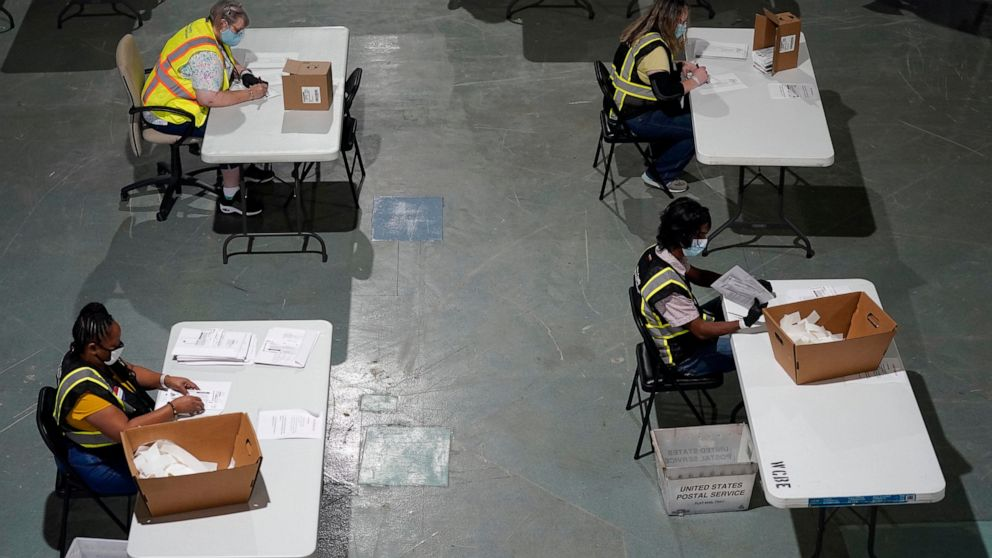 Early vote shows signs of Black voters' shift to mail voting thumbnail