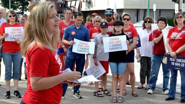 Gun control advocates call for new gun laws at rallies