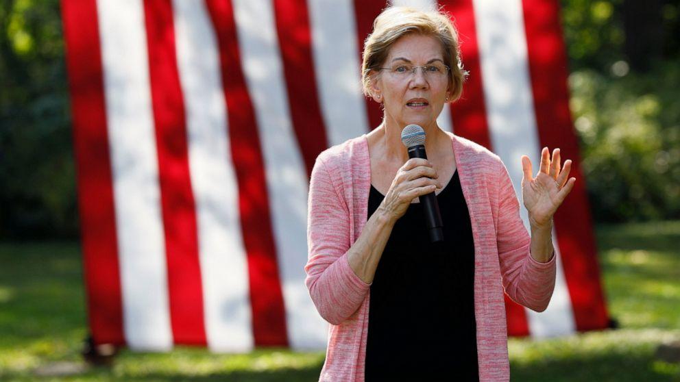 Steak, bir, dan politik: tahun 2020 Demokrat turun di Iowa