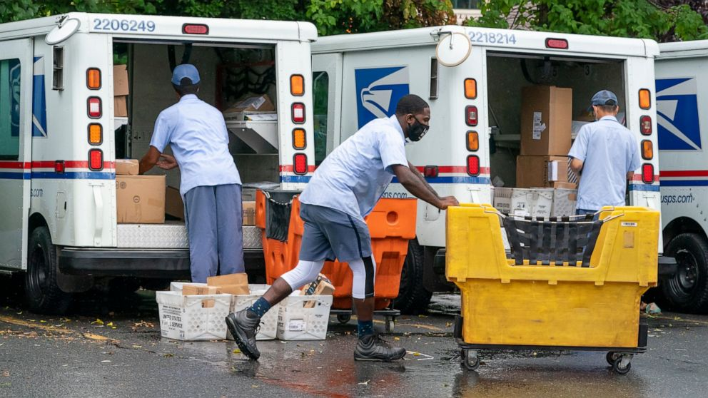 Postal Service emerges as flash point heading into election thumbnail
