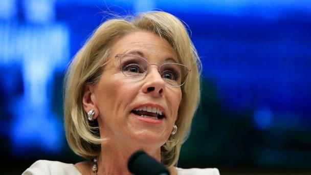 DeVos issues new loan forgiveness rule for swindled students