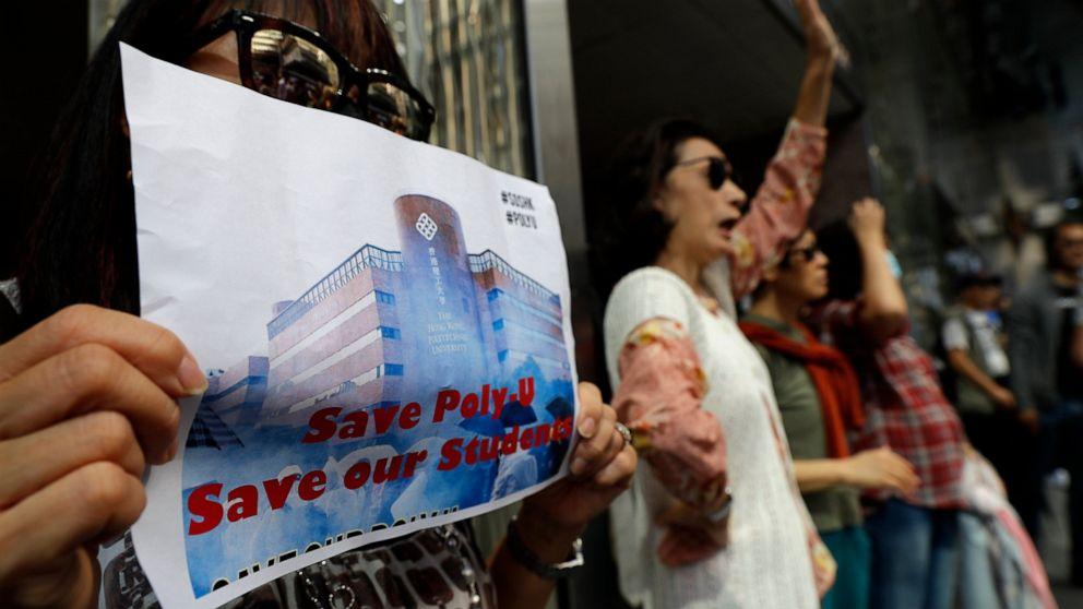 Ατού σημάδια λογαριασμούς στην υποστήριξη του Χονγκ Κονγκ οι διαδηλωτές