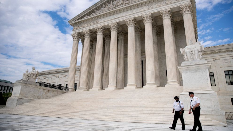 10 cases, 2 weeks, 1 Supreme Court holding phone arguments