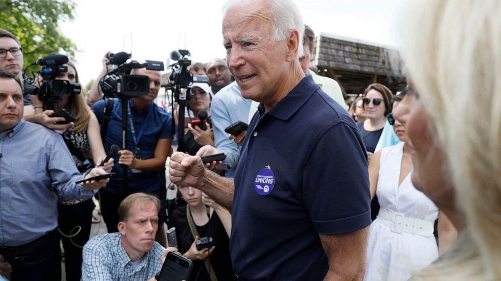 Biden tells Colbert his 'gaffes' aren't 'substantive'