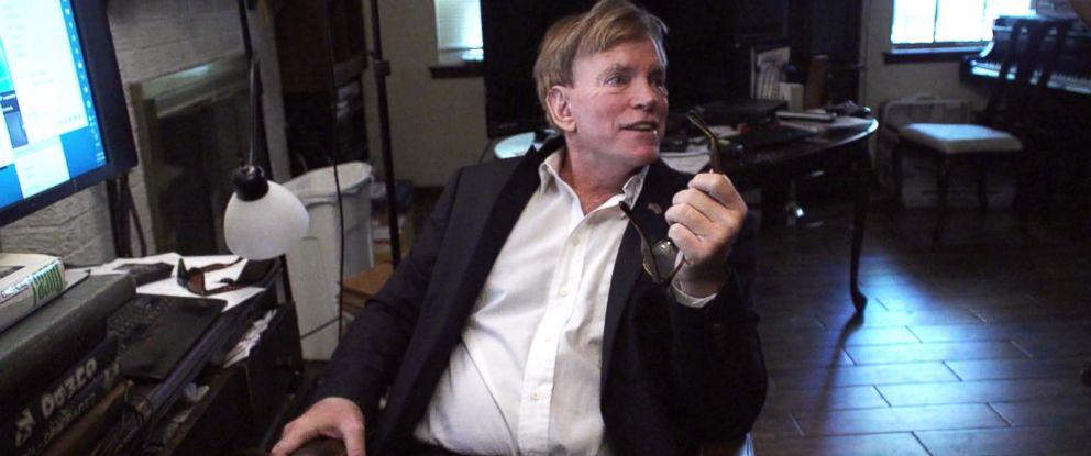 PHOTO: David Duke is interviewed at his home in Louisiana by ABC News in 2016.