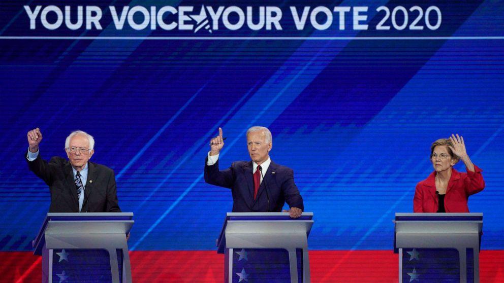Demokraten, um face off bei ABC-Debatte in New Hampshire nach chaos mars, Iowa Ergebnisse