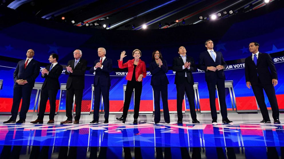 Democrats set for 4th debate after impeachment probe upends race: LIVE thumbnail