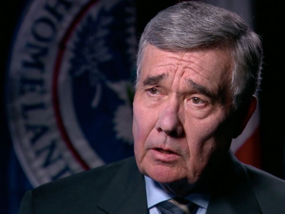 PHOTO: Gil Kerlikowske, the commissioner of Customs and Border Protection during the Obama Administration, seen in an interview with ABC News on Jan. 17, 2017.