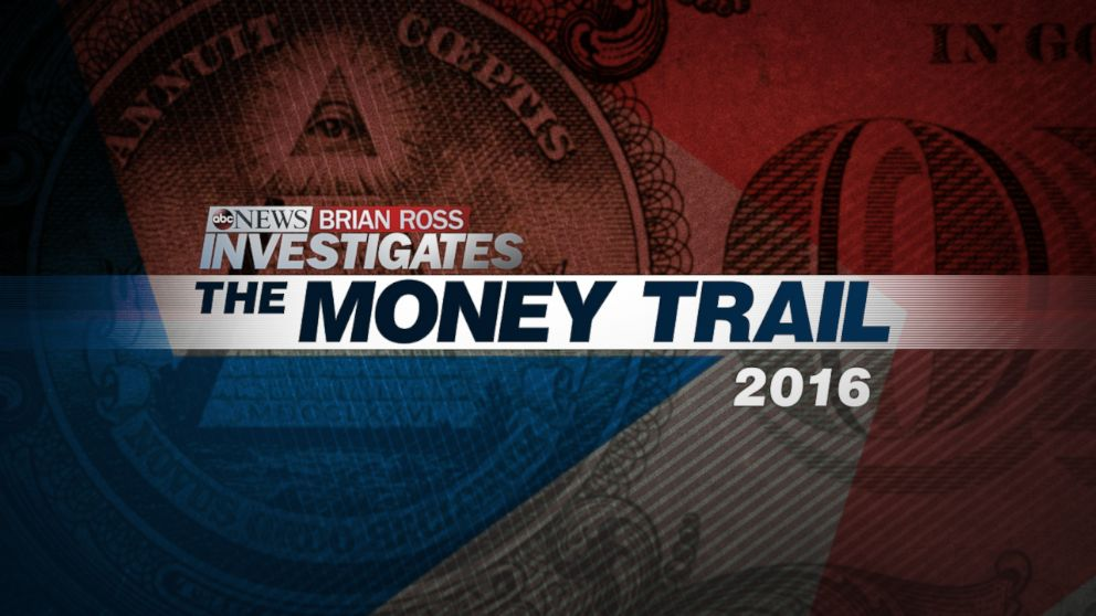 Each political season ABC News and the Brian Ross Investigative Unit follow the money on The Money Trail.