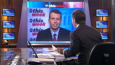 "PHOTO: Senior White House adviser David Plouffe on ""This Week"""