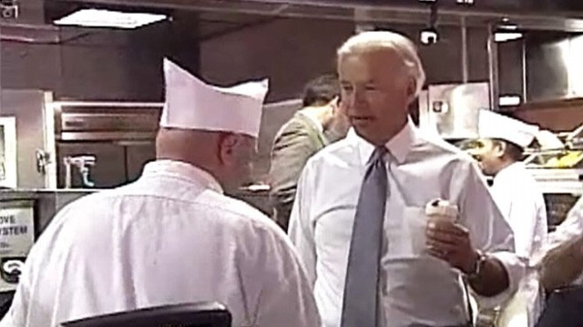 VIDEO: The vice president calls frozen custard store manager a 'smart a--.'