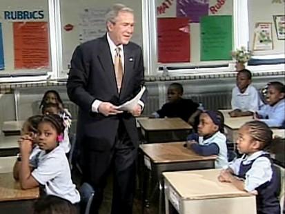 VIDEO: President Bush talks to kids in Philadelphia.