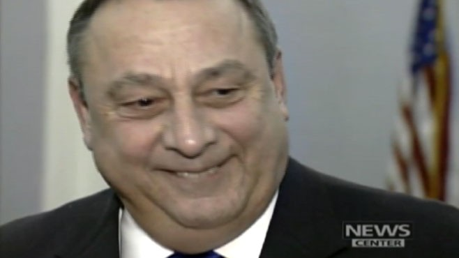 VIDEO: Paul LePage originally told critics to ?kiss my butt? for criticizing his record on race.