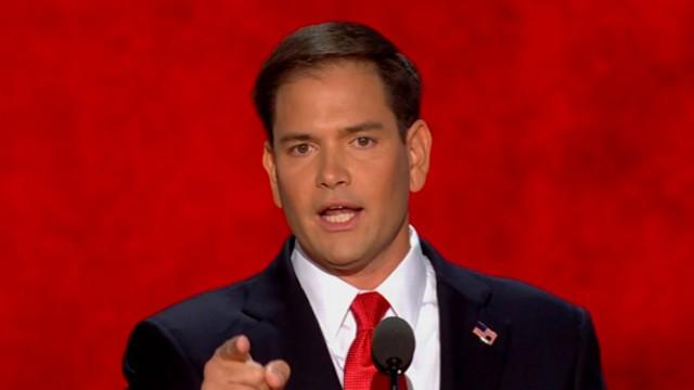 VIDEO: Florida senator offers a strong rebuke of President Obama's leadership, champions Mitt Romney.