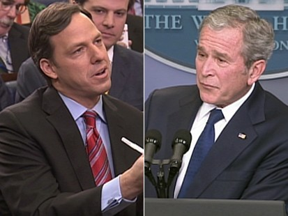 VIDEO: Jake Tapper talks to President Bush about his presidency.