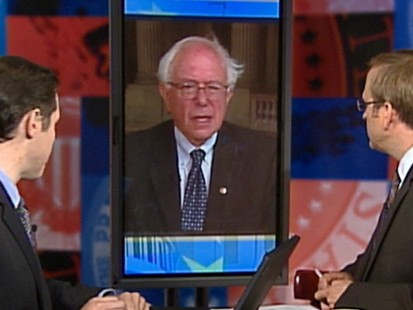 "Video: Sen. Bernie Sanders talks energy on ""Top Line."""