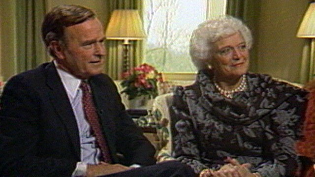 Jan. 20, 1989: President Bush, First Lady Interview Video - ABC News