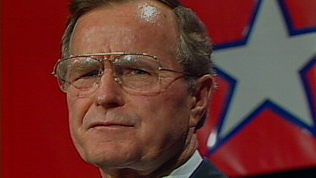 Nov. 8, 1988: George H.W. Bush\'s Presidential Victory Speech Video ...