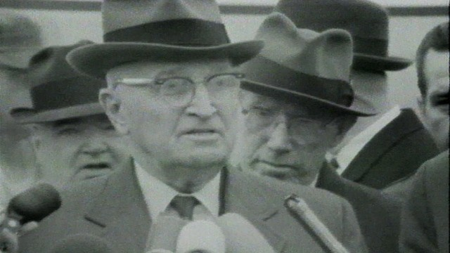 VIDEO: Harry Truman comments on the death of President Kennedy.