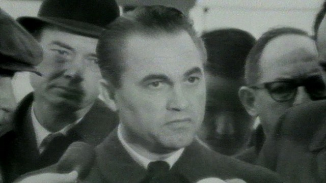 VIDEO: Governor George Wallace comments on the death of President Kennedy.
