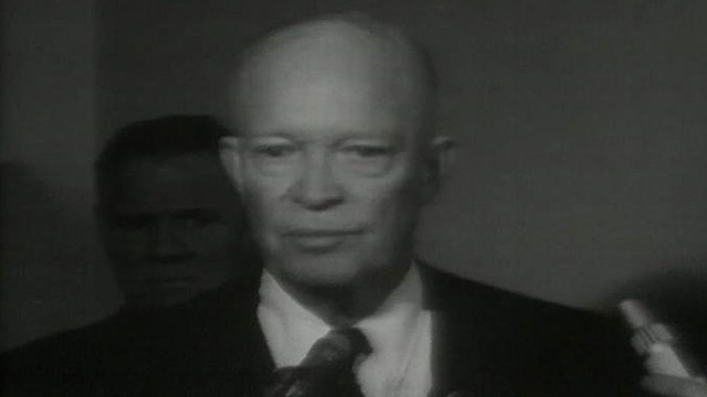 VIDEO: Dwight Eisenhower comments on the death of President Kennedy.