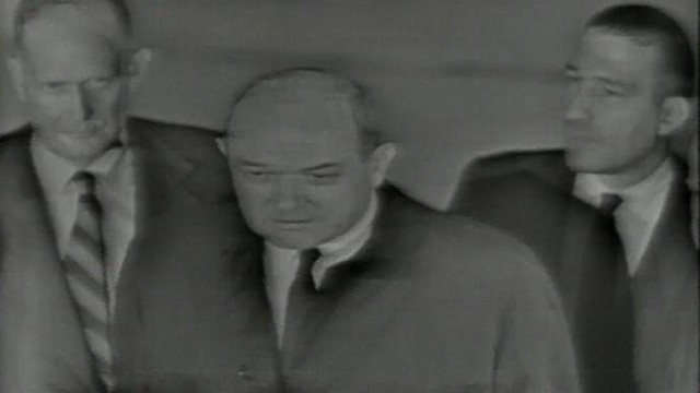 VIDEO: Secretary Rusk comments on the death of President Kennedy.