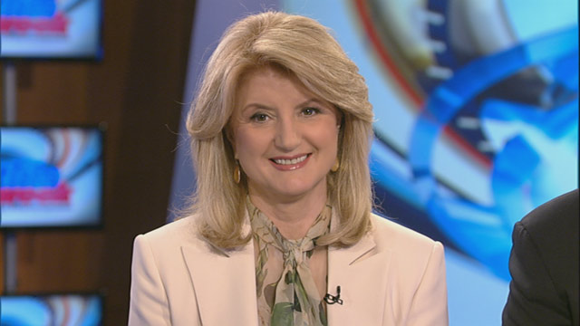 PHOTO: Huffington Post Media Group president and editor-in-chief Arianna Huffington on 'This Week'