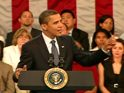 Video of President Obama in Raleigh, North Carolina talking health care reform.