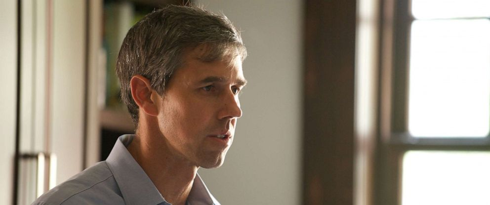 PHOTO: 2020 Democratic Presidential Candidate Beto ORourke at his home in El Paso, Texas.