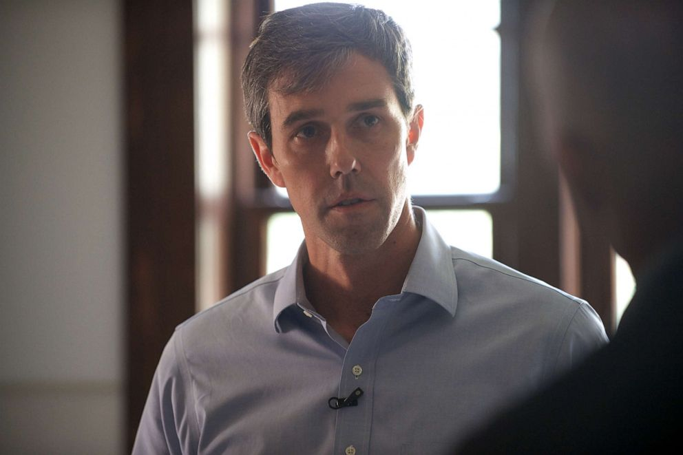 Beto ORourke seen here during a Nightline interview at his home in El Paso, Texas.
