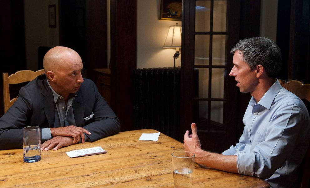 Nightline co-anchor Byron Pitts interviews Beto ORourke at his home in El Paso, Texas.
