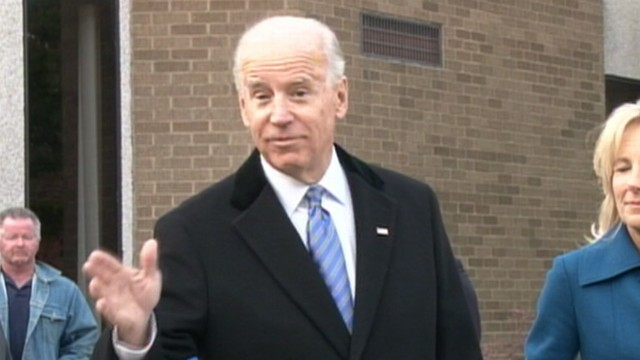 VIDEO: Vice president says this isnt the last time hell vote for himself.