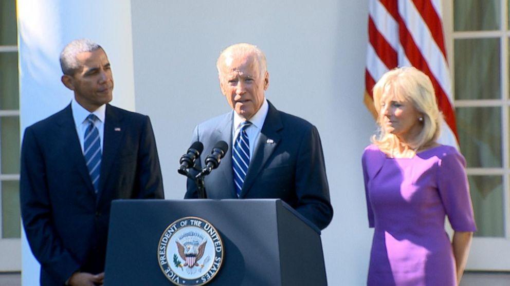 Joe Biden Not Running for President - ABC News