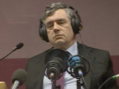VIDEO: Prime Minister Gordon Brown is caught calling an elderly woman bigoted.