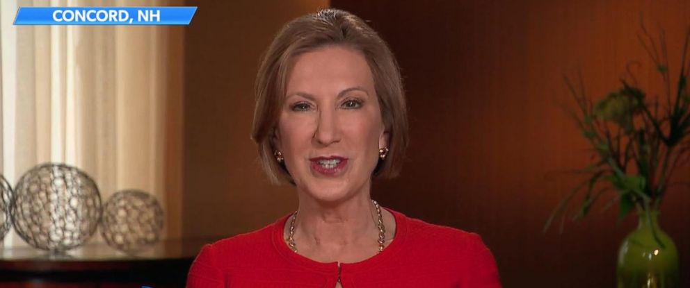 "PHOTO: Carly Fiorina appears on ""The View,"" Nov. 6, 2015."