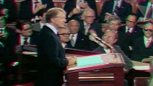 VIDEO: State of the Union 1979: President Carter introduces a national health plan.