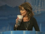 PHOTO: Sarah Palin speaks at CPAC on March 16, 2013.