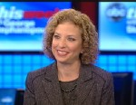 PHOTO: Democratic National Committee Chair Rep Debbie Wasserman Schultz, (D) Florida, on This Week