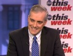 PHOTO: White House Chief of Staff Denis McDonough on This Week.
