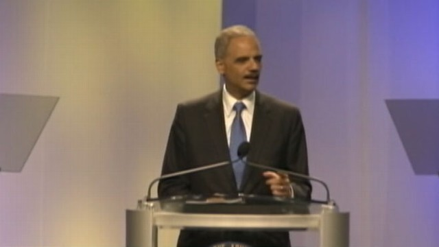 Attorney General Eric Holder Addresses Trayvon Martin Shooting, Criticizes Stand-Your-Ground Laws