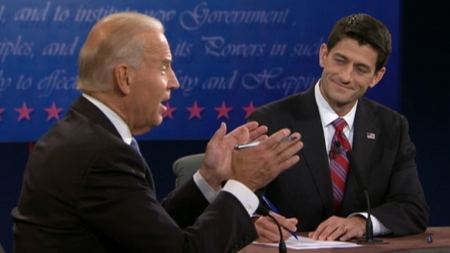 VIDEO: Vice president, Rep. Paul Ryan debate White House response to economic crisis.