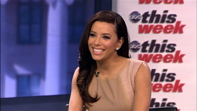 PHOTO: Presidential Inauguration Committee Co-Chair and Latino Inaugural 2013 Executive Producer Eva Longoria