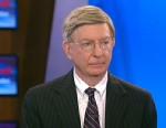 """PHOTO: ABC News George Will appears on the """"This Week"""" roundtable."""
