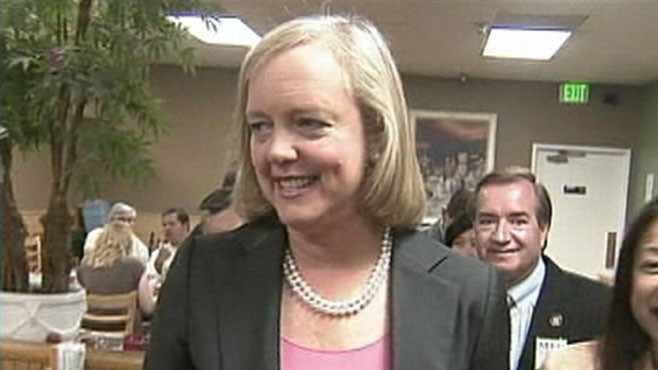 VIDEO: Salty language surfaces in the California race for governor as Jerry Browns aide calls Meg Whitman a whore.