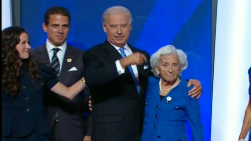 Biden Pays Tribute To Mother At Dnc Video Abc News