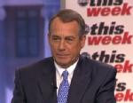PHOTO: ABC News Martha Raddatz interviews House Speaker John Boehner